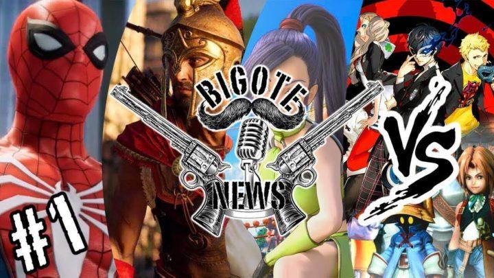 BIGOTE NEWS #1: El Canario, El Enano y El Calvo