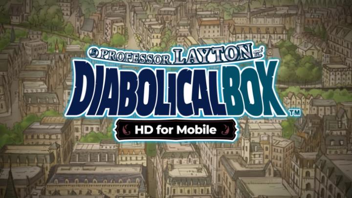 """Los desafíos mentales de """"El Profesor Layton y la Caja de Pandora"""", en iOS y Android."""