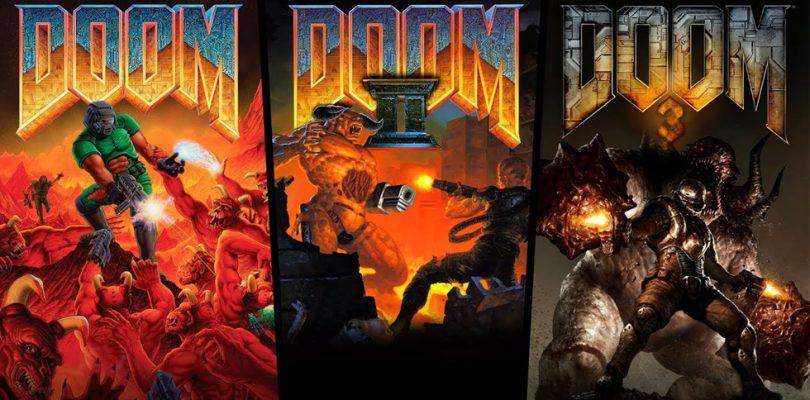 DOOM, DOOM II y DOOM 3 ya disponibles para PlayStation 4, Xbox One y Nintendo Switch