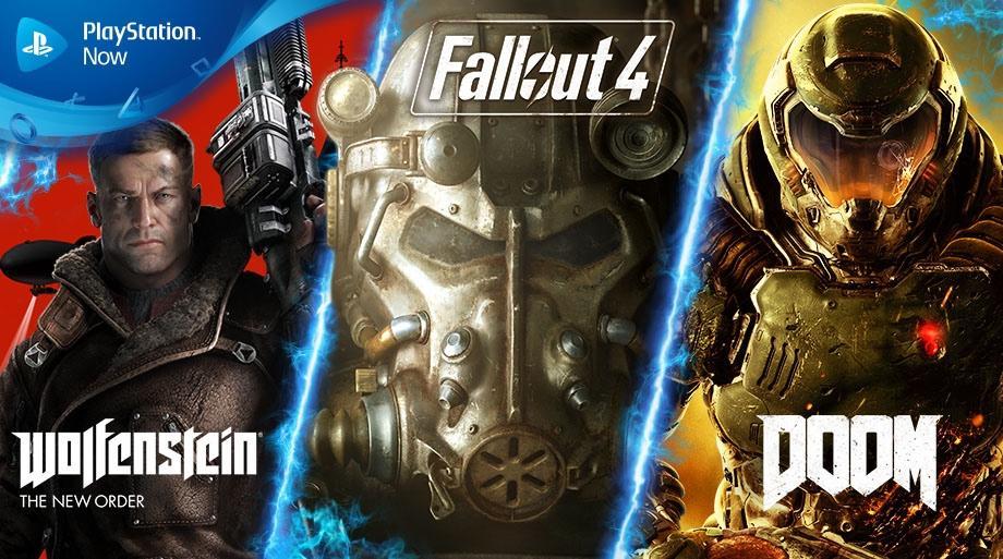 DOOM 2016, Wolfenstein The New Order, Fallout 4 y la trilogía de Castlevania: Lords of Shadow novedades de agosto para PlayStation Now