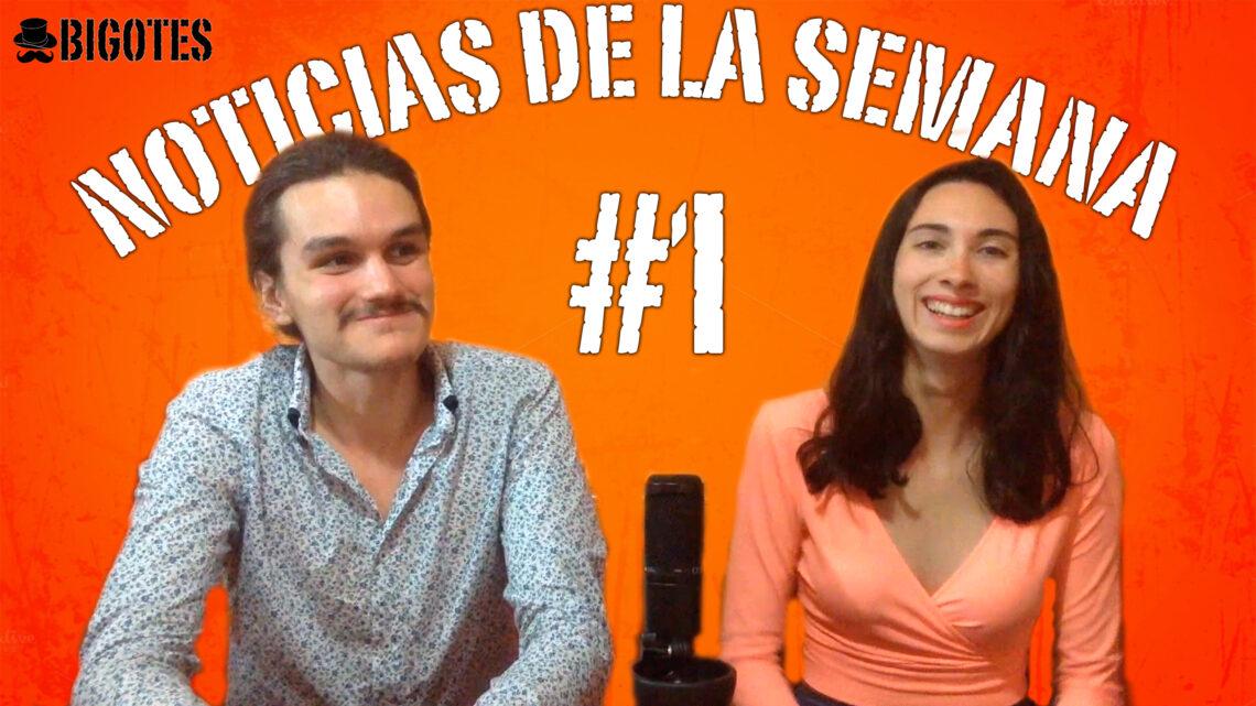 NOTICIAS DE LA SEMANA #1: Lú y Diego repasan las novedades del mundo del videojuego