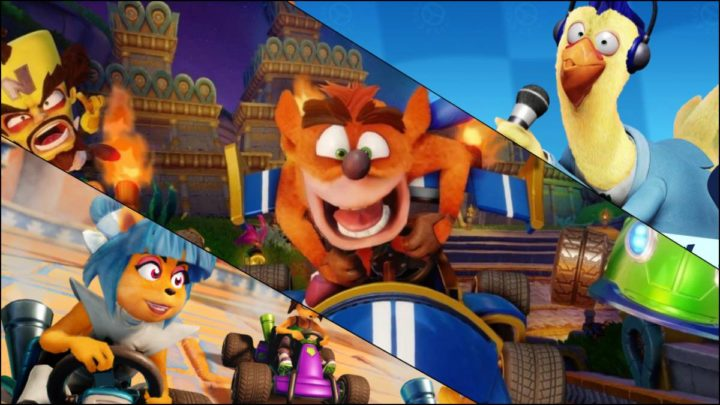 Crash: Team Racing estrena el nuevo Nitro Tour Grand Prix
