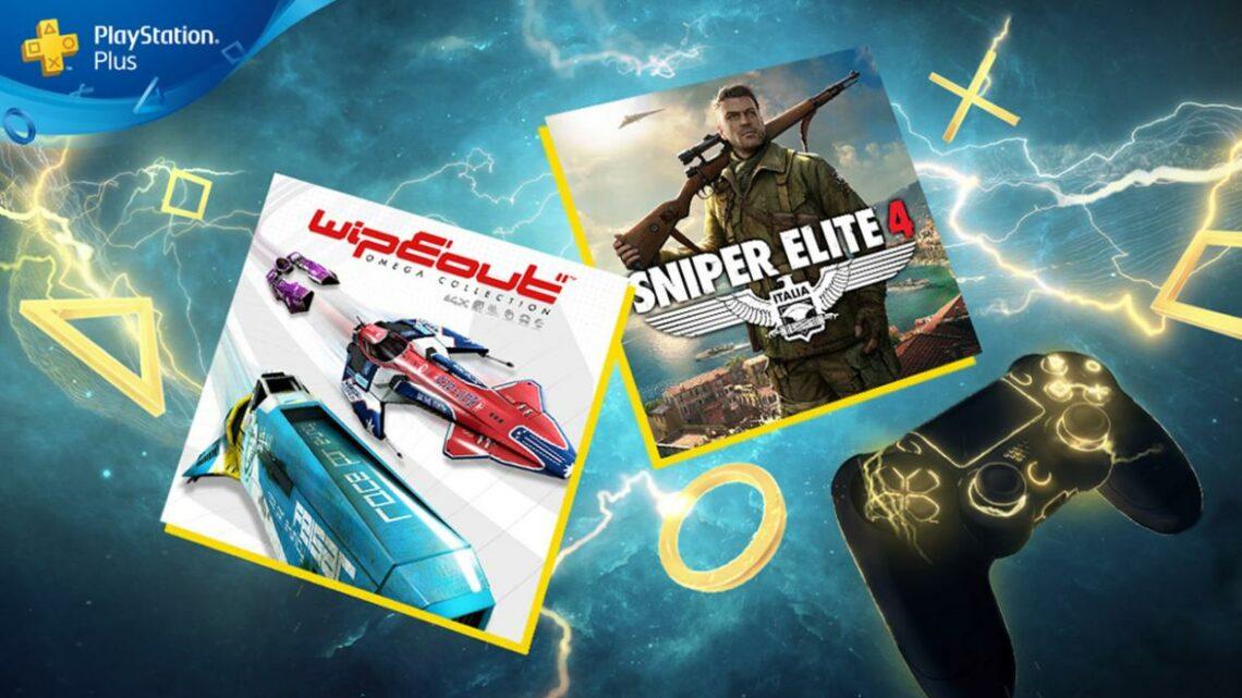 «WipEout Omega Collection» y «Sniper Elite 4», juegos de agosto para PlayStation Plus