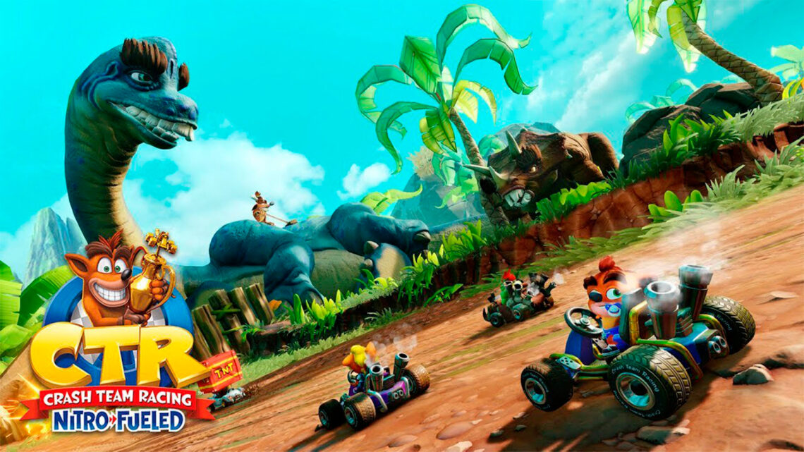 El Gran Premio «Back N. Time» ya está disponible en «Crash Team Racing Nitro-Fueled»