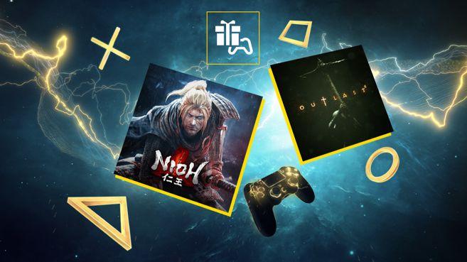 «Nioh» y «Outlast II», ya disponibles como juegos gratuitos de noviembre para los usuarios de PS Plus