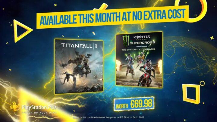 «Titanfall 2» y «Monster Energy Supercross» como juegos de diciembre para los usuarios de PlayStation Plus