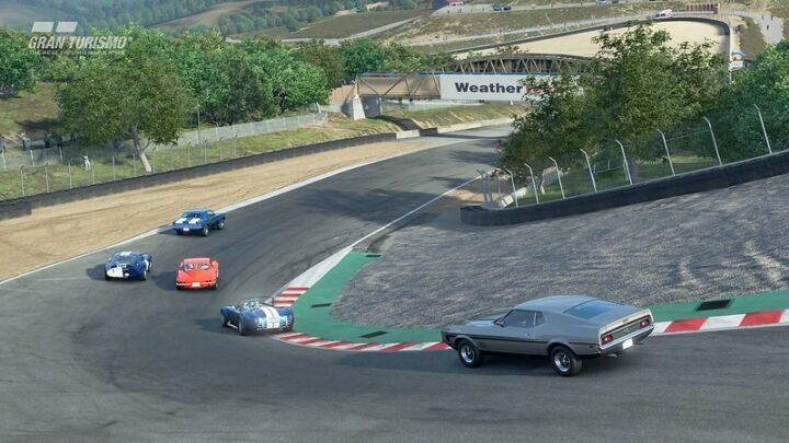 Gran Turismo Sport se actualiza a la versión 1.53 con «Laguna Seca», su nuevo circuito