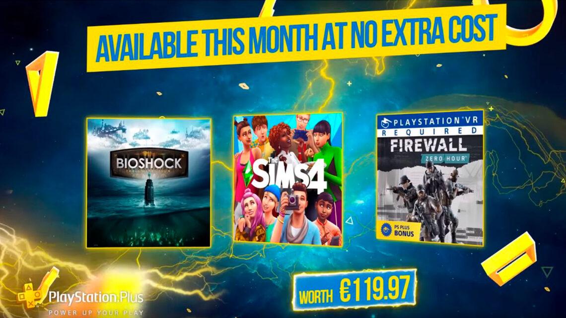 «BioShock: The Collection», «Los Sims 4» y «Firewall: Zero Hour» como juegos de febrero para PlayStation Plus