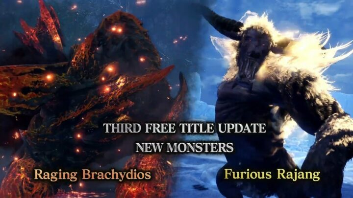 Furious Rajang y Raging Brachydios llegarán a «Monster Hunter World: Iceborne» en su tercera actualización gratuita