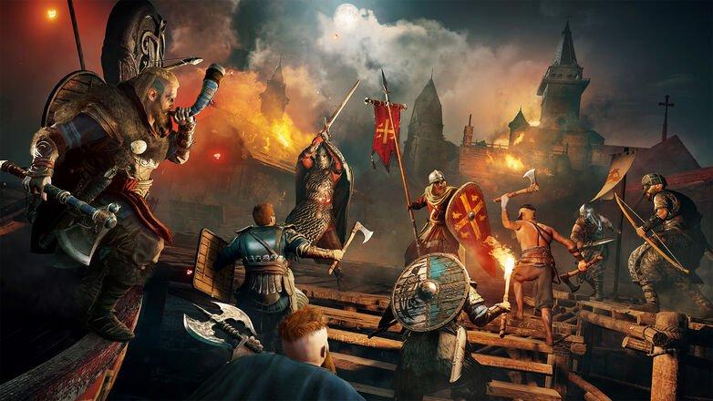 imagen de asedio raid de Assassin's Creed Valhalla