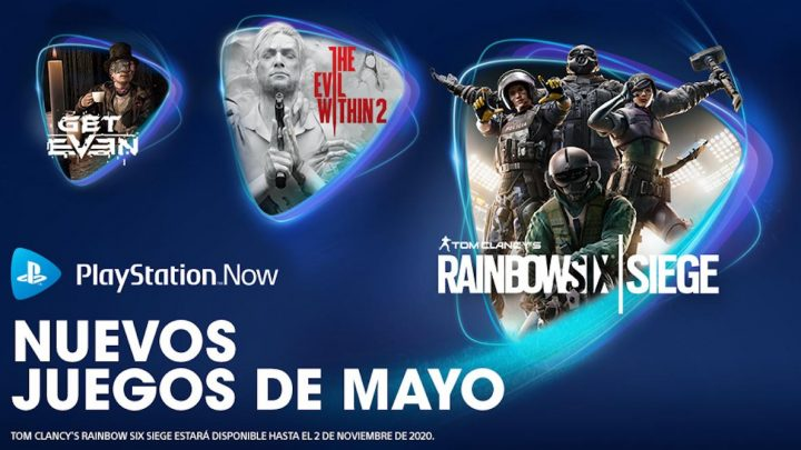 The Evil Within 2, Rainbow Six Siege y Get Even como juegos de mayo para PS Now