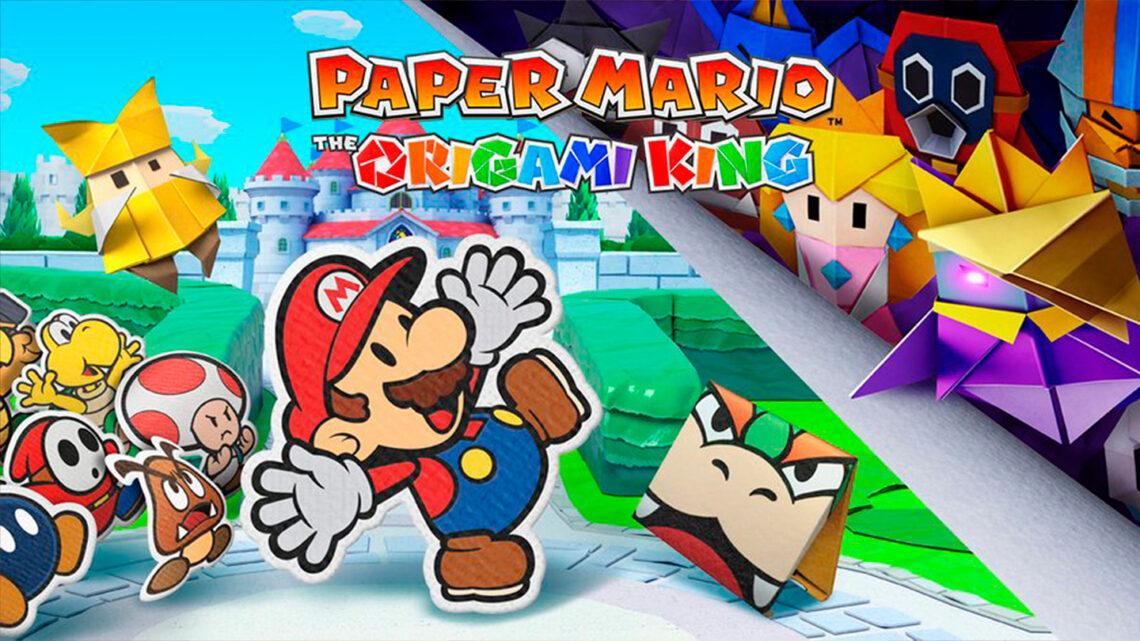 Ya es oficial: Paper Mario The Origami King se estrenará en julio