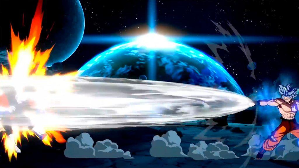imagen de Goku Ultra Instinto Dragon Ball FighterZ