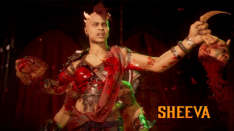 imagen de Mortal Kombat 11 Aftermath con Sheeva