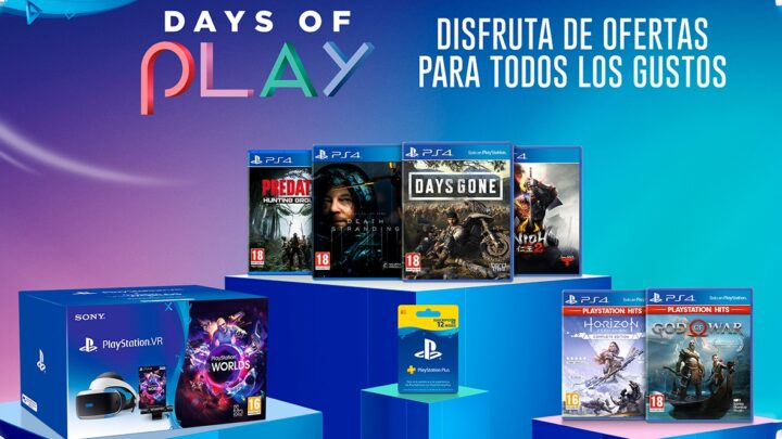 Ya están aquí los Days of Play 2020, descuentos en formato físico y digital para PlayStation 4