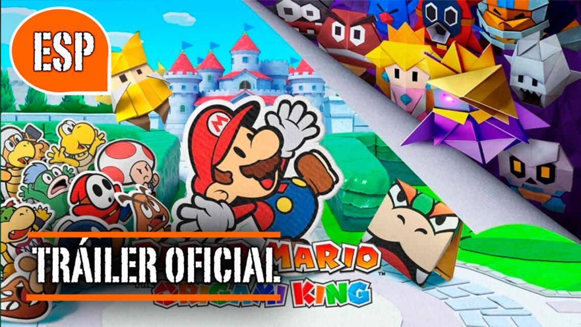 Paper Mario: The Origami King: Tráiler Oficial de Presentación en español