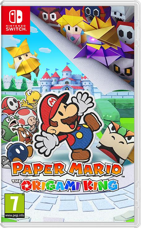 carátula de Paper Mario The Origami King