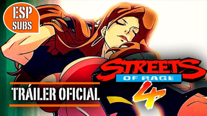 Streets of Rage 4: Tráiler de Lanzamiento con subtítulos en español