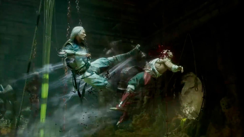 imagen de Mortal Kombat 11 Aftermath con Fujin