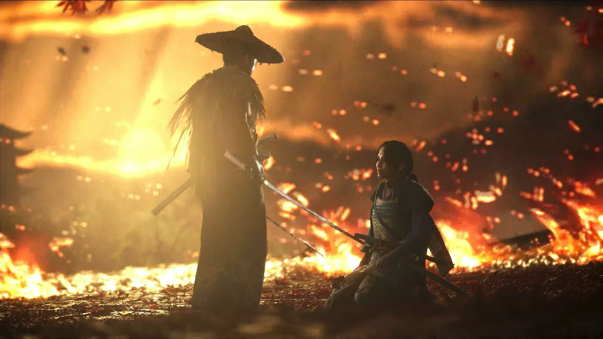 imagen del videojuego Ghost of Tsushima para PlayStation 4 PS4