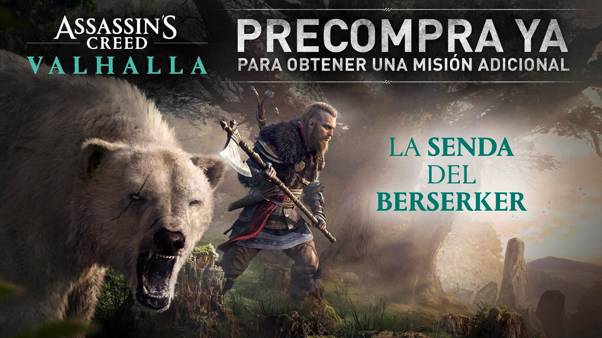La Senda del Berserker en Assassin's Creed Valhalla imagen