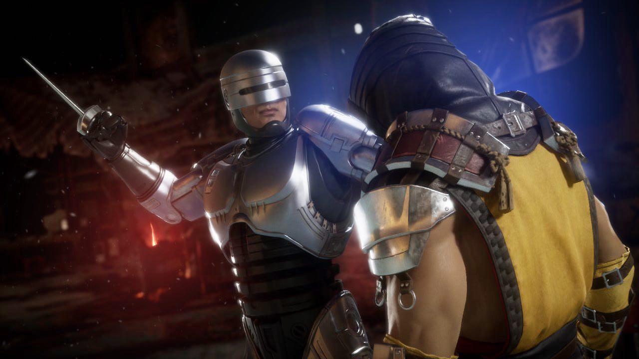 imagen de Mortal Kombat 11 Aftermath con RoboCop
