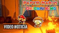imagen de video noticia de Paper Mario: The Origami King
