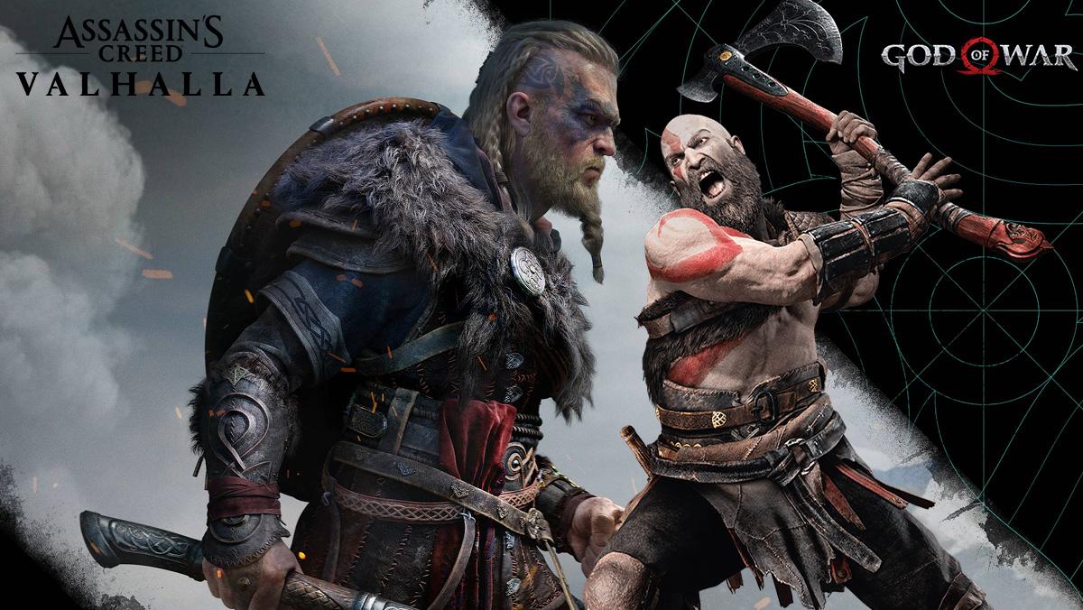 Imagen de Assassin's Creed Valhalla y God of War