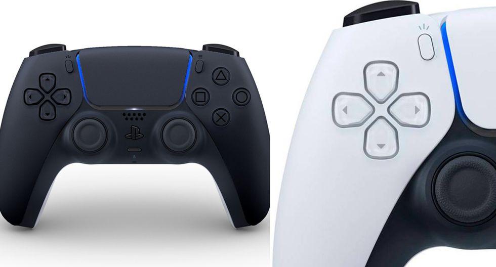 imagen de PlayStation 5 11 de junio mando negro y blanco